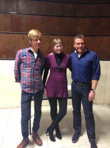 Stephan Ludwig, ich und Arno Strobel