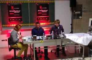 Arno und Stephan im Interview mit Anette