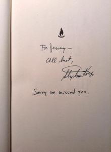 Signatur für Jenny