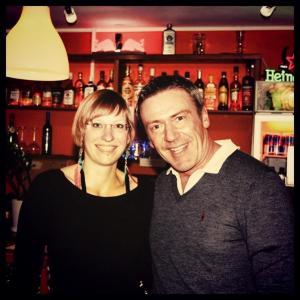 Arno und meine Wenigkeit. :)