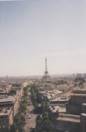 Blick auf den Eifelturm